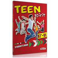 STUDENT BOOK + 2 CD TEEN SPIRIT A2+-B1