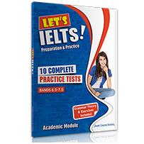 10 COMPLETE PRACTICE TESTS + BOOKLET LET'S IELTS