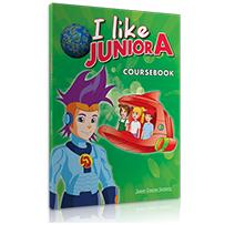 COURSEBOOK + 2 CD & DVD  I LIKE JUNIOR A