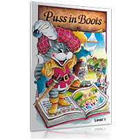 PUSS IN BOOTS + 1 AUDIO CD LEVEL 1  ΜΑΘ./ΚΑΘ.