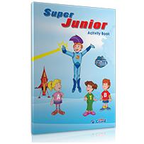 ACTIVITY BOOK + STICKERS  S. JUNIOR (PRE JUNIOR)