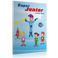 ACTIVITY BOOK + STICKERS  S. JUNIOR (PRE JUNIOR)