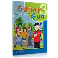 COURSEBOOK + i-BOOK  SUPER FUN 3 - A2