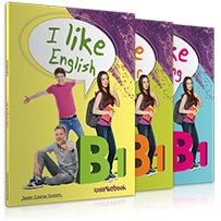 ΠΑΚΕΤΟ ΜΕ i-BOOK  I LIKE ENGLISH B1