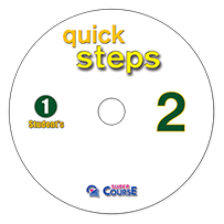 1 AUDIO CD  QUICK STEPS 2   ΜΑΘΗΤΗ