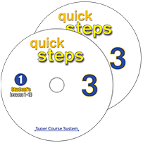 2 AUDIO CDs  QUICK STEPS 3   ΜΑΘΗΤΗ
