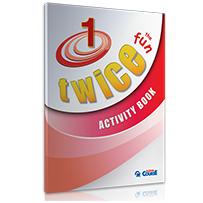 ACTIVITY BOOK TWICE the FUN 1