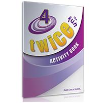ACTIVITY BOOK TWICE the FUN 4