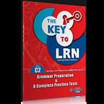 C2 GRAM. PREP. & 8 PRACTICE TESTS THE KEY TO LRN