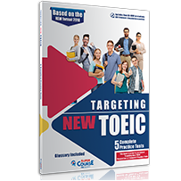 5 COMPLETE PRACTICE TESTS + CD-ROM TARGETING NEW TOEIC