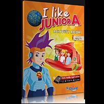 ACTIVITY BOOK + STICKERS  I LIKE JUNIOR A