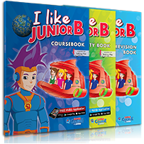 ΠΑΚΕΤΟ ΜΕ i-BOOK + REVISION (ΣΥΜΒΑΤΟ T. PEN) I LIKE JUNIOR B