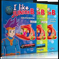 ΠΑΚΕΤΟ ΜΕ i-BOOK + REVISION (ΣΥΜΒΑΤΟ T. PEN) I LIKE JUNIOR B