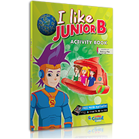 ACTIVITY BOOK + STICKERS  I LIKE JUNIOR B