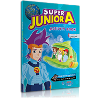 ACTIVITY BOOK + STICKERS   S. JUNIOR A