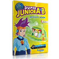 ACTIVITY BOOK + STICKERS   S. JUNIOR A to B