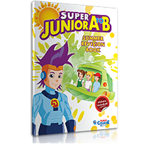 SUMMER - REVISION BOOK + STICKERS  S. JUNIOR A to B