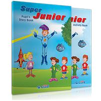 ΠΑΚΕΤΟ ΜΕ 1 CD & DVD+ ΚΑΣΕΤΙΝΑ  S. JUNIOR (PRE JUNIOR)