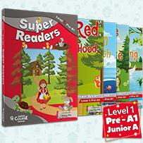 LEVEL 1 (JUNIOR A)-ΠΑΚΕΤΟ 4 ΠΑΡΑΜΥΘΙΑ+MP3+GLOSSARY S.READERS