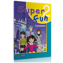 COURSEBOOK + i-BOOK  SUPER FUN 2 - A1