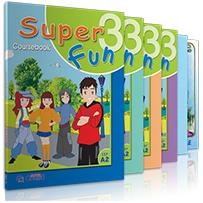 ΠΛΗΡΕΣ ΠΑΚΕΤΟ ME i-BOOK + ΚΥΚΛΟ ΡΗΜΑΤΩΝ  SUPER FUN 3 - A2